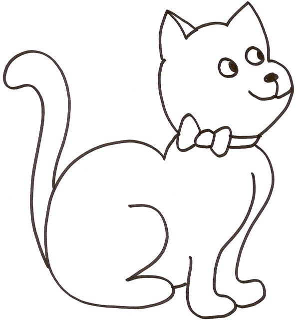 Chat dessiner - Animal dessin ...
